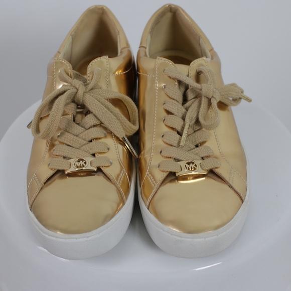 Gold Michael Kors Sneakers | Poshmark